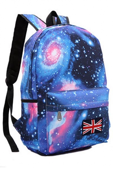 Nylon Backpack / Laptop Bag - Blue