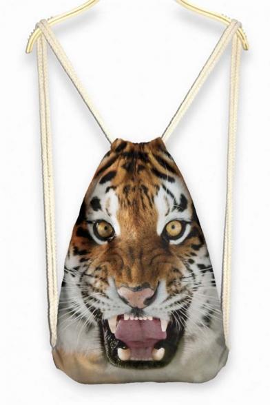 Tiger Roaring Face Weekend Bag Backpack