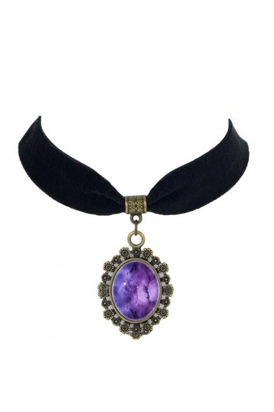 Elegant Gothic Galaxy Metal Women's Necklaces