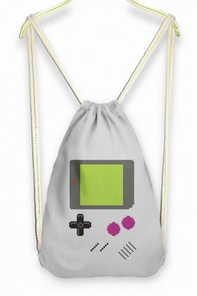 Girl's Game Controler Drawstring Backpack