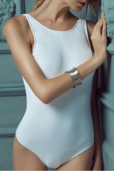 Image of Backless One-piece Swimwear