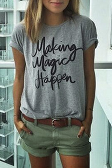 Making Magic Happen Graphic Tee Beautifulhalo Com