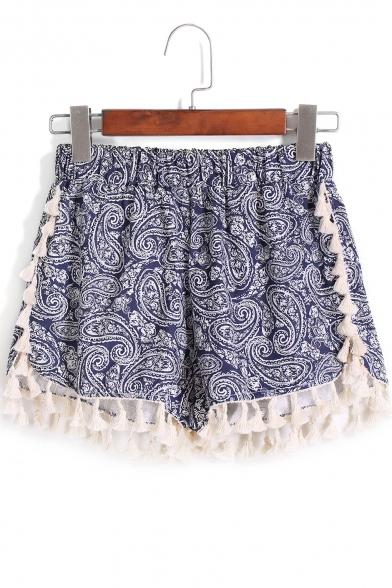 Summer Beach Women/'s Shorts Geometric Colorful Pattern Fashionable Casual Attire