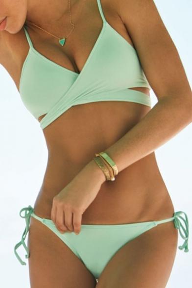 Cross Wrap Bikini Set