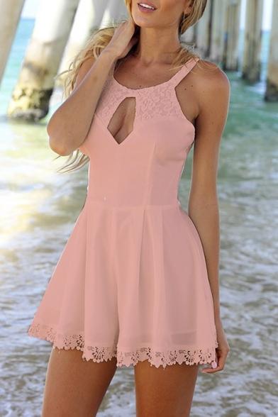 Paso Round Neck Asymmetric Hem Plain Long Sleeve Bodycon Dresses kong wholesale
