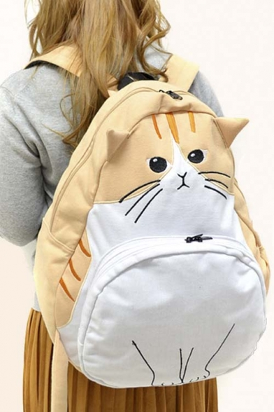 Popular Cat Cartoon Cute Bag/School Bag/Travel Bag - Beautifulhalo.com