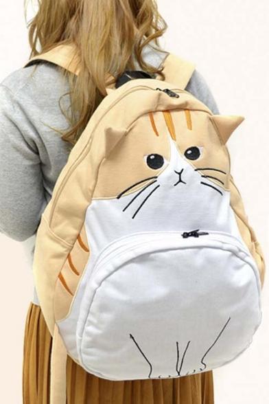 Popular Cat Cartoon Cute Bag/School Bag/Travel Bag - Beautifulhalo.com