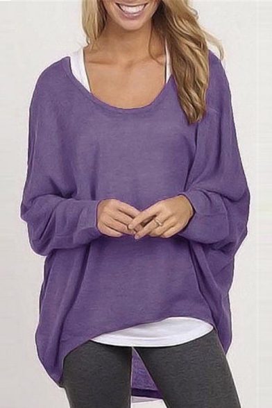 Long Oversized Baggy Casual Womens Shirts Shoulder Sleeve Tops Sexy Off xO1EAnYp