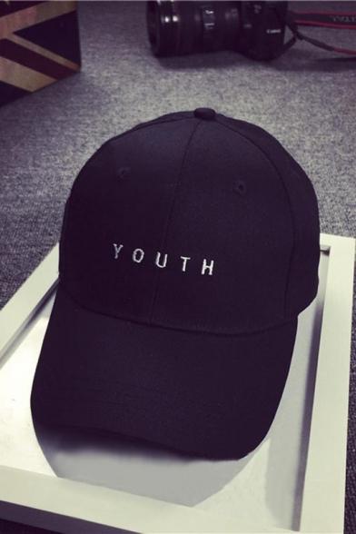 48d3f61f928 ... Men Women Lovers Embroidery YOUTH Letter Baseball Cap Snapback Hat ...