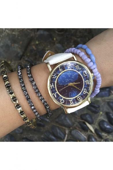 Popular Vintage Leather Quartz Water Resistance Watch