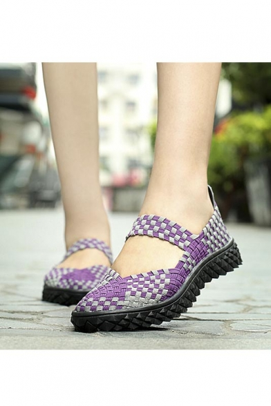 Woven Fabric Shoes