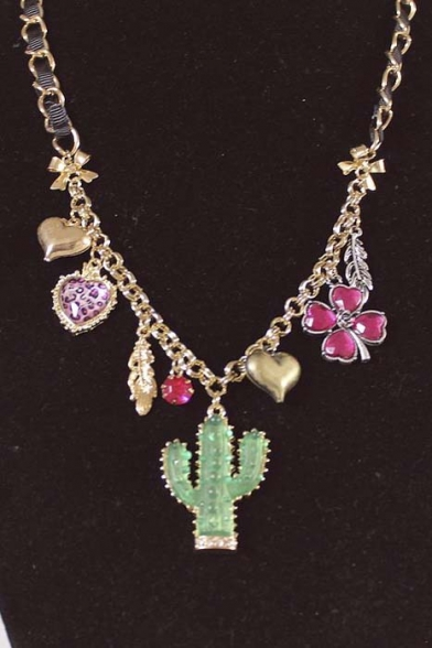 Hot New Release Cactus Alloy Hot Necklaces