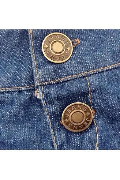 Women's Low Rise Mini Denim Shorts Club Wear Jeans