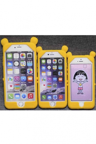 f5b35a68dc ... Cute Cartoon Character Phone Cases for iPhone Iphone5/5s Iphone6/6S 6  Plus/ ...