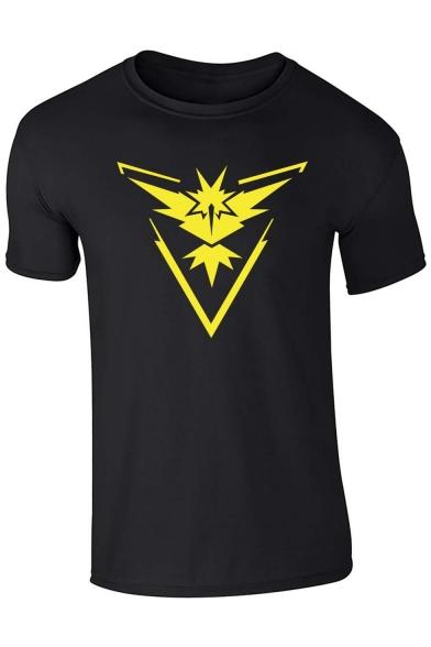 shirt Sleeve Short Print T Fashion wE17qYnSIS