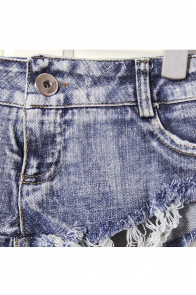 Sexy Cut Off Low Waist Women Denim Jeans Shorts Short Mini Hot Pants
