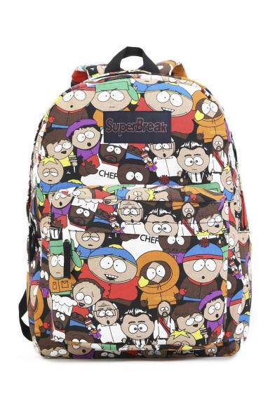 Women's South Park Cartoon Print Shoulders Bag