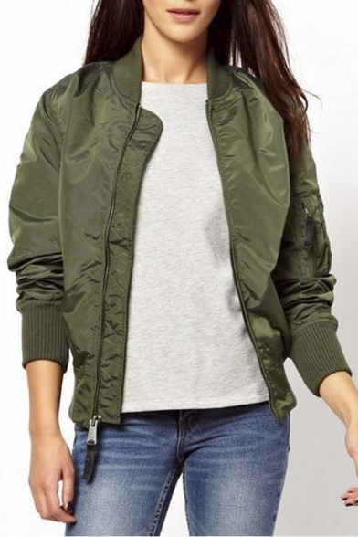 New Arrival Women's Fashion Bomber Jacket