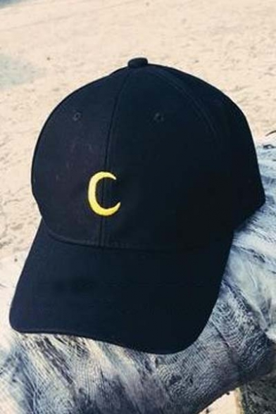 Unisex Fashionable Embroidered Moon Baseball Cap