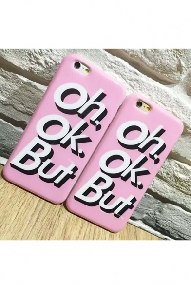 Fashion Oh OK But TPU Phone Cases for iPhone 6/6S iPhone 6 Plus/6S Plus