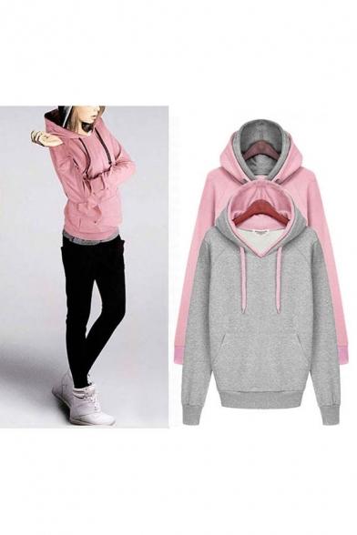 Women Eco Pullover Fleece Hoodie Warm Sweatshirt Coat Jacket Club Swoosh
