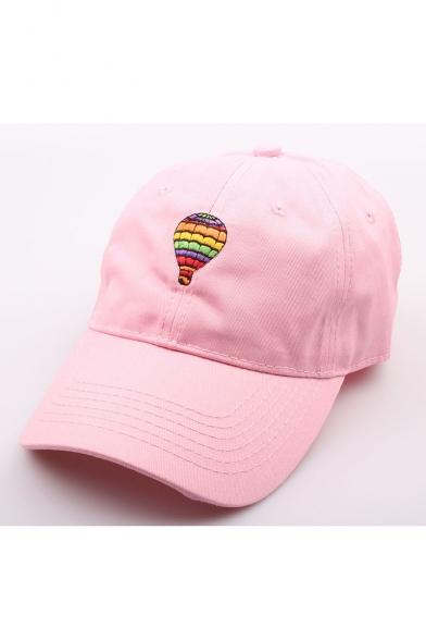 ... New Arrival Fashion Cute Embroidered Colored Balloon Baseball Caps ... a20b760f143