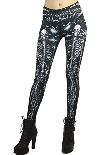 Premium Graphic Print Leggings