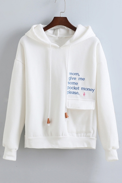 Mom Give Me Pocket Money Please Hoodie with Pocket