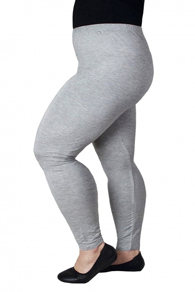 ecaac06274f11 ... Women's Plus Size Summer Lightweight Breathable Full Length Leggings ...
