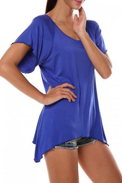 5f089749889 Women's Swing Tunic Tops Loose Fit Comfy Flattering T-Shirt -  Beautifulhalo.com