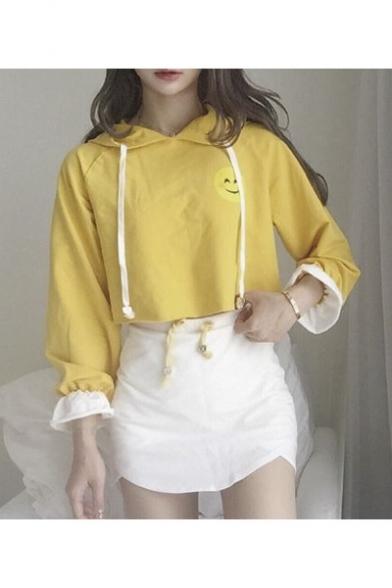 026b2538ee6766 Women's Long Sleeve Crop Hoodie Pencil Mini Skirt Co-ords -  Beautifulhalo.com