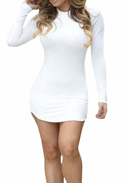 Women's Sexy Bodycon Bandage Party Short Dress