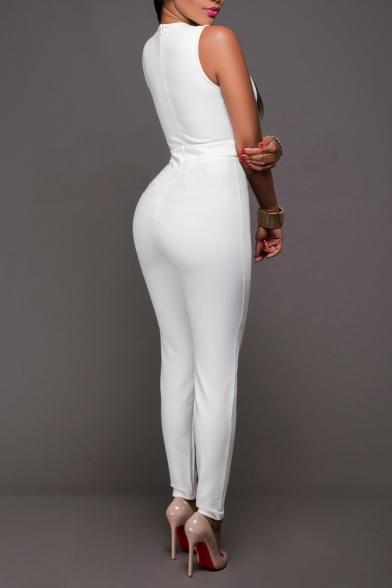 Women's Sexy Clubwear Bodycon Long Jumpsuit Rompers