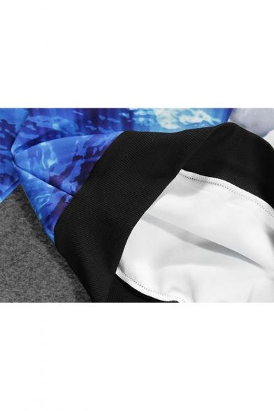 Galaxy Loose Printed New Hoodie Sleeve Arrival Sea Long qEO7fY