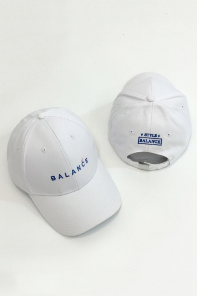 Simple Letter Printed Basic Outdoor Unisex Baseball Cap