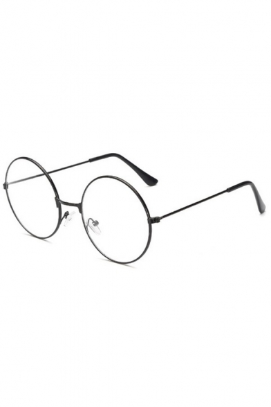 Vintage Round Shape Simple Glasses