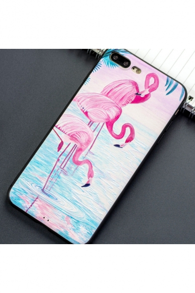 New Arrival Flamingo Printed Soft Case iPhone Case for Couple