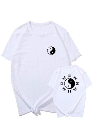 Casual Arrival New Tee Sleeve Sports Neck Printed Short Round r4rdwqYa