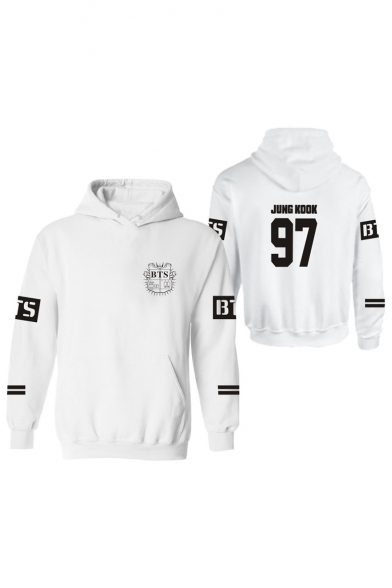 New Arrival Letter Pattern Long Sleeve Casual Leisure Hoodie