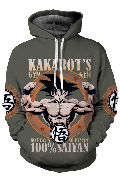 Sweatshirt Graphic Long Sleeve Drawstring Hoodie Hooded Cartoon Printed pqwwaHx