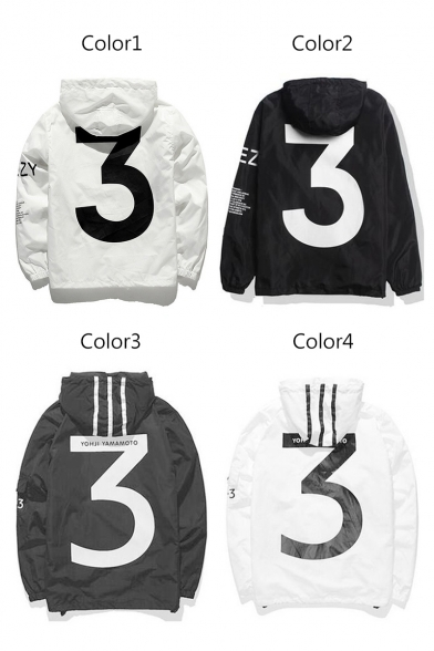 Hoodie Long New Sleeve Style Printed Arrival Leisure Letter Street 8wfx46