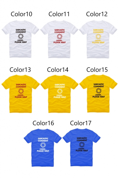 Unisex Graphic Printed Short Sleeve Round Neck Casual Tee
