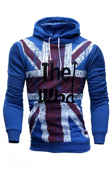 New Fashion Letter Pattern Casual Leisure Long Sleeve Unisex Hoodie