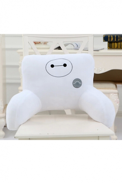 Lovely Cartoon Big White Pattern Comfort Woolen Waist Pillow