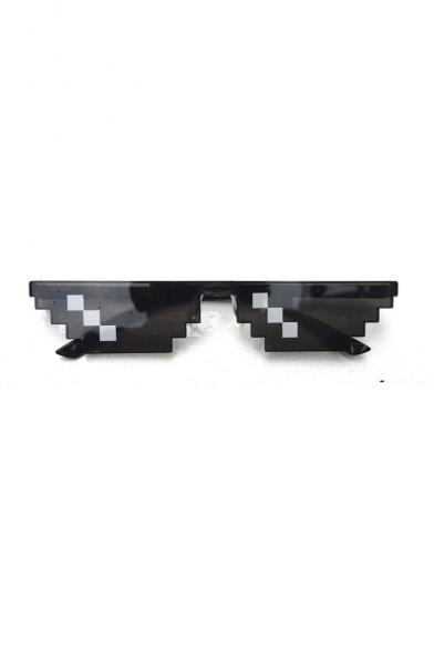 Mosaic Funny Cool Black Sunglasses