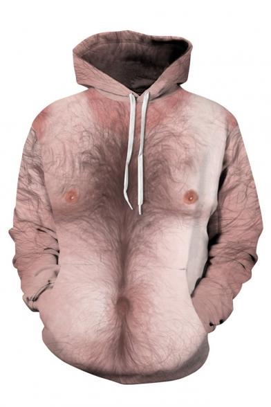 Funny Human Body 3D Printed Long Sleeve Hoodie Sweatshirt