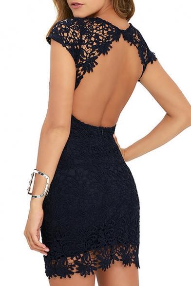 Plain Lace Dress