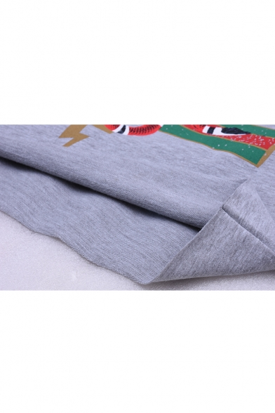 Hoodie Pattern Trendy Casual Cropped Stylish Long Sleeve Letter Sexy New BzRT6z