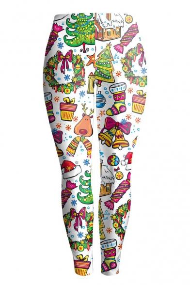 New Collection Fashion Christmas Theme Pattern Sports Yoga Leggings