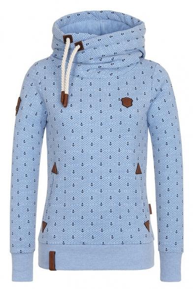 Hot Fashion Stylish Printed Basic Sports Casual Long Sleeve Hoodie